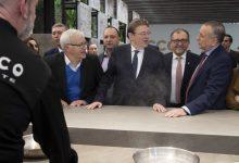 Suport total de la Diputació al sector ceràmic de Castelló, que ocupa de manera directa a més de 15.000 persones i representa el 40% del PIB de la província