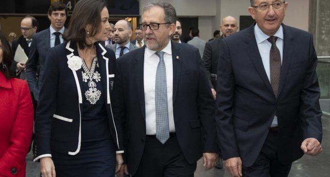 Martí aconsegueix el compromís de la ministra Maroto per a visitar Castelló i estudiar solucions per a la indústria ceràmica