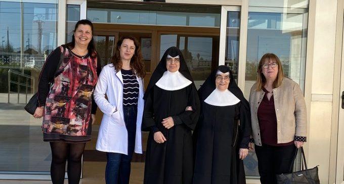 Patricia Puerta visita la Residència Verge de Lledó, que disposa de 143 places per a persones majors