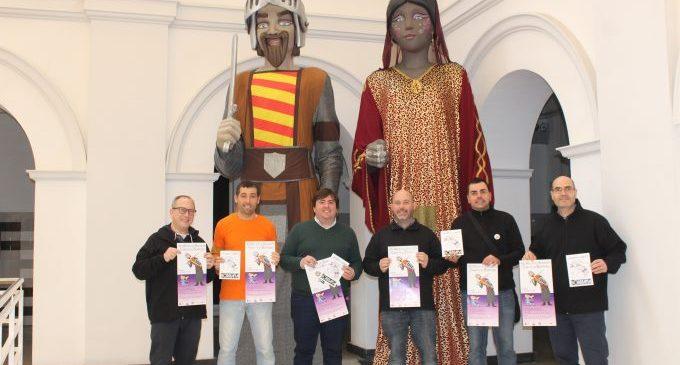 Borriana celebra dissabte el XIII Aplec de Gegants i Cabuts