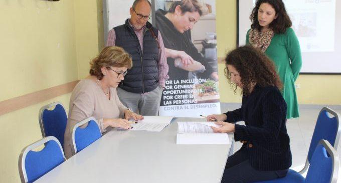 Borriana y Acción Contra el Hambre suscriben un convenio para desarrollar el programa gratuito Vives Emplea