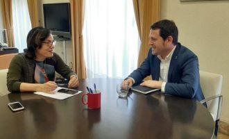 El diputat provincial de residus i la subdelegada del govern a Castelló valoren mesures contra els delictes ambientals