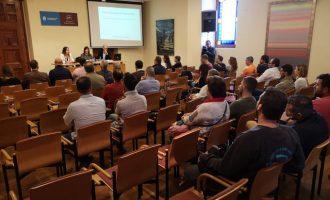 El Ayuntamiento de la Vall d'Uixó forma a los contratistas y empresarios locales en la nueva ley de contratos