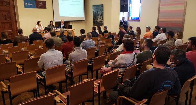 L'Ajuntament de la Vall d'Uixó forma als contractistes i empresaris locals en la nova llei de contractes