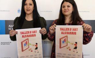 El Ayuntamiento de la Vall d'Uixó presenta el Taller d'Art als barris