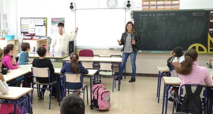L'Ajuntament de la Vall d'Uixó visita els col·legis amb la Campanya d'Igualtat per a Escolars
