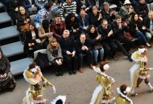 José Martí y Ruth Sanz disfrutan con el primer gran desfile del Carnaval de Vinaròs