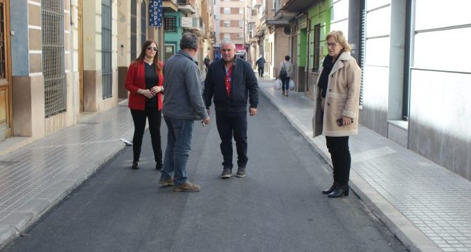 Finalitzades les primeres obres als carrers de Borriana