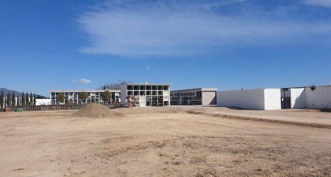 Comencen les obres d'ampliació del cementeri municipal de Vinaròs