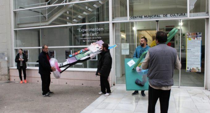 La exposición y la elección del 'Ninot indultat', preliminares de las Fallas de 2020 en Borriana