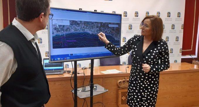 El projecte de la costa Nord preveu la construcció de tres espigons i un mirador