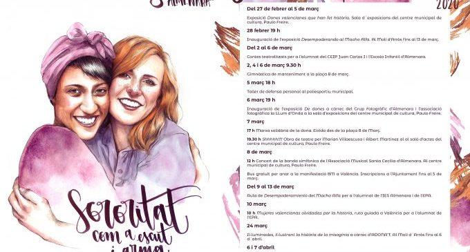 Almenara presenta las actividades de la Setmana de la Dona