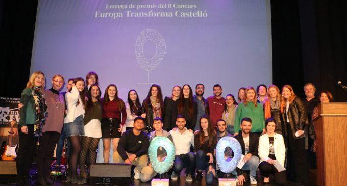 Els guanyadors dels premis 'Europa Transforma Castelló' viatgen a Brussel·les