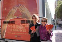 """Castelló conmemora el 8M con un mensaje de unidad: """"Por mí y por todas mis compañeras"""""""