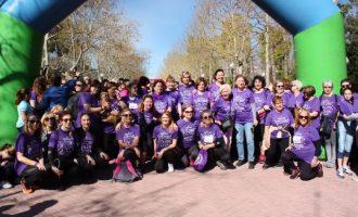 Más de 4.200 participantes recorren Castelló en la XVI Cursa de les Dones