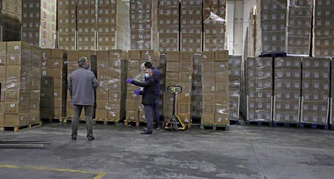 El Consell destina més de 95.600 euros per a distribuir mascaretes, guants i gel hidroalcohòlic