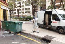 Castelló redueix 75.000 kilos la generació de residus durant l'estat d'alarma