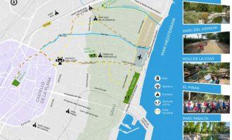 Castelló propone una visita virtual por espacios verdes de la ciudad a través de la guía interactiva