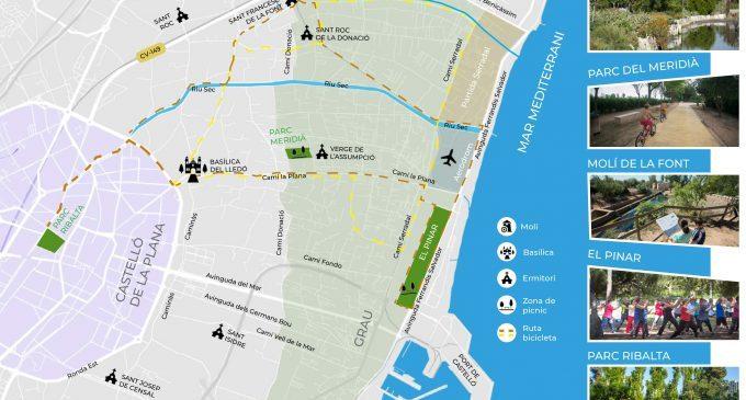 Castelló proposa una visita virtual per espais verds de la ciutat a través de la guia interactiva