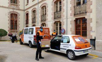 Protección Civil de Castelló entrega a domicilio los medicamentos a enfermos oncológicos