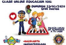 La policía local de Almenara realizará una clase de educación vial por Facebook