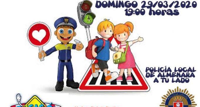 La policia local d'Almenara realitzarà una classe d'educació viària per Facebook