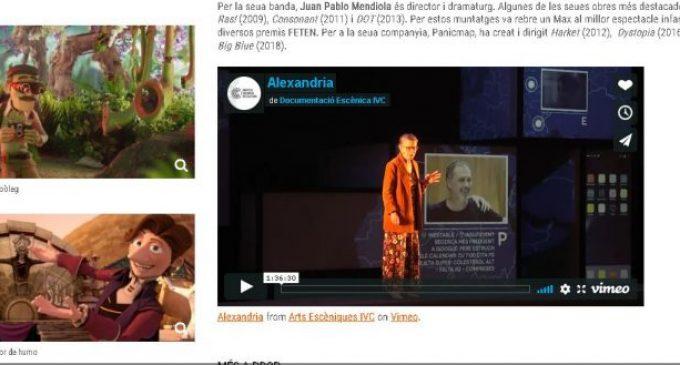 L'Institut Valencià de Cultura obri el canal 'Queda't a casa'
