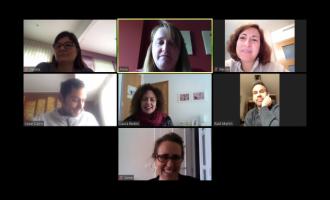 El centre Rafel Martí de Viciana de Borriana adapta les seues classes de manera virtual
