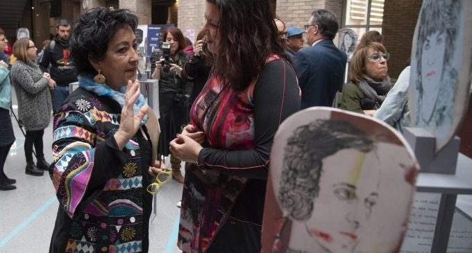 Patricia Puerta crida a reparar la invisibilitat de les dones en la construcció de la nostra societat