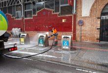 10 tractors i 6 turbos s'uneixen als treballs de neteja i desinfecció de Borriana