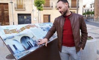 El Ayuntamiento de la Vall d'Uixó instala paneles informativos a lo largo de la ruta turística del Camí de l'Aigua