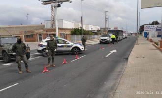El Ejército colabora con la Policía Local y Nacional en la vigilancia de zonas industriales y agrícolas