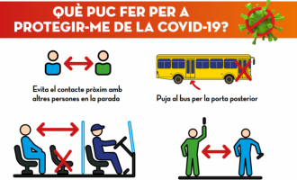 El Groguet adapta sus líneas y condiciones de uso para garantizar el servicio y la seguridad de los usuarios y conductores