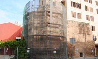 Vila-real inicia les obres de la Torre Motxa que garantiran la conservació d'aquest monument declarat BIC