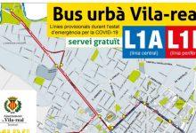 L'autobús urbà gratuït de Vila-real redueix una línia i modifica recorreguts per a garantir la cobertura a tota la ciutat i a l'Hospital de la Plana de dilluns a diumenge