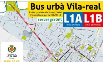 El autobús urbano gratuito de Vila-real reduce una línea y modifica recorridos para garantizar la cobertura a toda la ciudad y al Hospital de la Plana de lunes a domingo