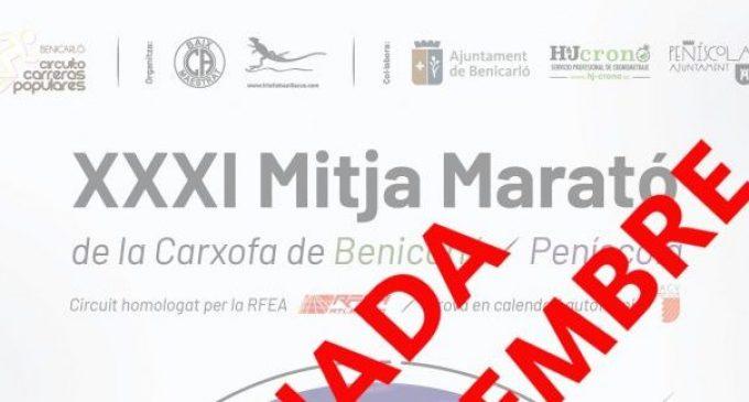 La XXXI Mitja Marató de la Carxofa s'ajorna l'1 de novembre pel COVID19