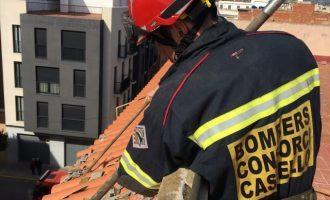 La Diputació mobilitza el Consorci de Bombers i efectua una trentena de serveis d'urgència per l'episodi de vent