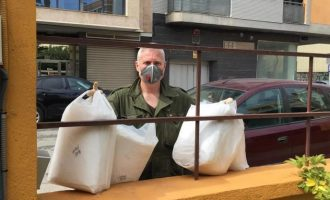 Benicarló recibe material preventivo procedente de instituciones y de donaciones privadas