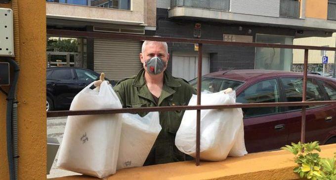Benicarló rep material preventiu procedent de les institucions i de donacions privades