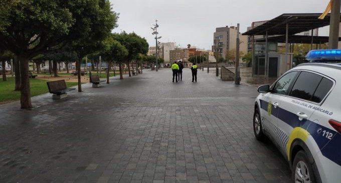 La Policia Local de Benicarló posa 47 denúncies en la primera setmana de confinament