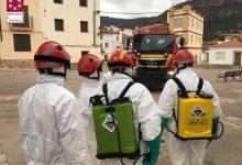 El Consorci Provincial de Bombers es trasllada a Toga per a desinfectar el nucli urbà després del seu primer cas per coronavirus