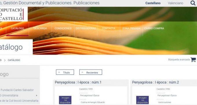 L'obertura al públic del catàleg del Servei de Publicacions de la Diputació, tot un èxit: 7.800 descàrregues en una setmana