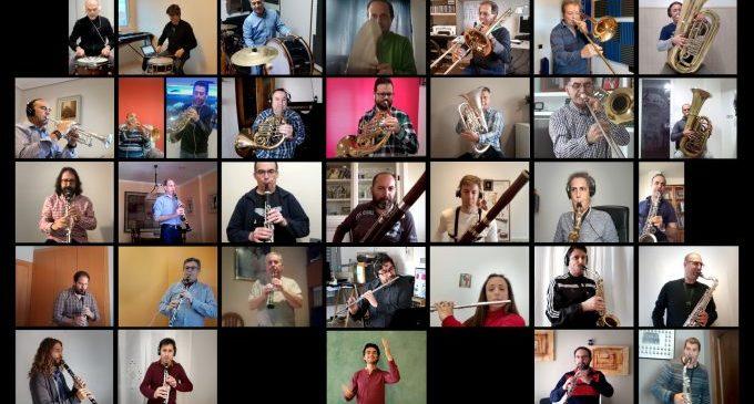 La Banda Municipal de Castelló estrena 'La Banda a Casa' per a omplir de música el confinament