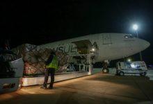 Aquesta matinada ha aterrat un nou vol procedent de la Xina amb 34,9 tones de material sanitari