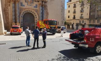 Els bombers realitzaran feines de desinfecció de forma periòdica a Vinaròs