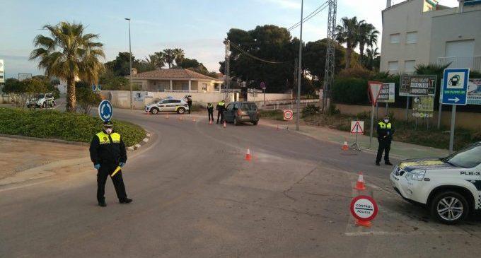 La Policia Local de Benicarló controla 265 vehicles i posa 9 denúncies durant el cap de setmana