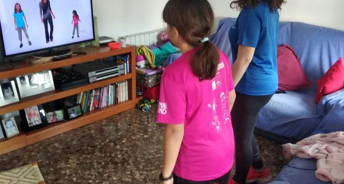 64 niños y niñas han participado en las Jornadas Multideportivas y de Hábitos Saludables virtuales de Pascua organizadas por el SME de Borriana