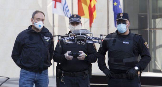 Onda dota d'un dron a la Policia Local per a millorar la seguretat i reforçar la vigilància
