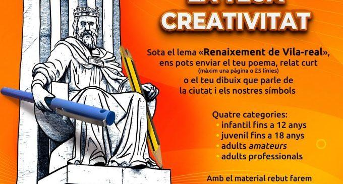 L'Ajuntament convida a la ciutadania a sumar-se al renaixement de Vila-real a través d'un concurs creatiu